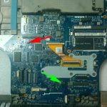 Alienware M17X LA-8341P lokalizacja kości BIOSu